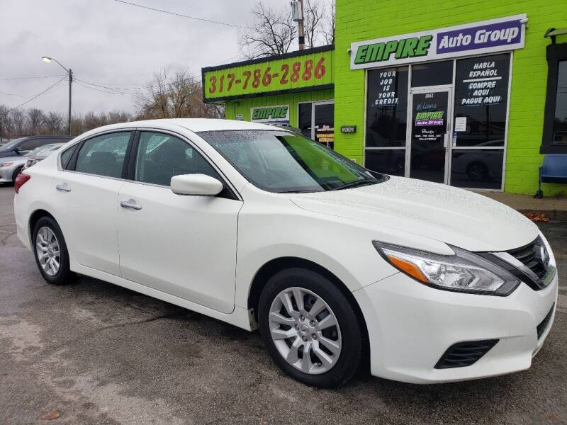 2018 Nissan Altima for sale at Empire Auto Group in Indianapolis IN