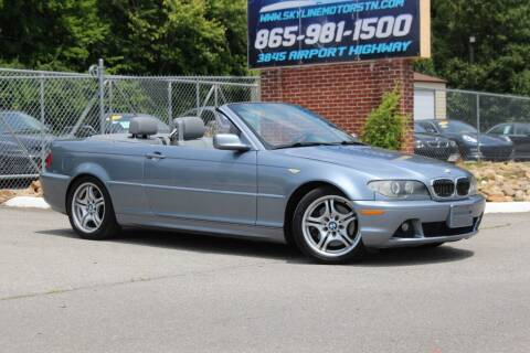 2006 BMW 3 Series for sale at Skyline Motors in Louisville TN