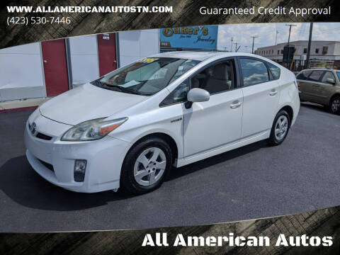 2010 Toyota Prius for sale at All American Autos in Kingsport TN