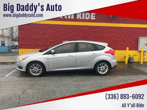 2015 Ford Focus for sale at Big Daddy's Auto in Winston-Salem NC