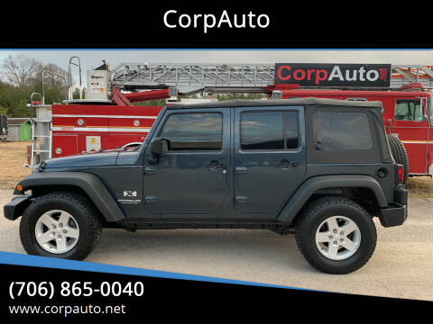 2008 Jeep Wrangler Unlimited for sale at CorpAuto in Cleveland GA