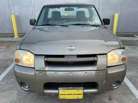 2001 Nissan Frontier for sale at Delta Auto Alliance in Houston TX