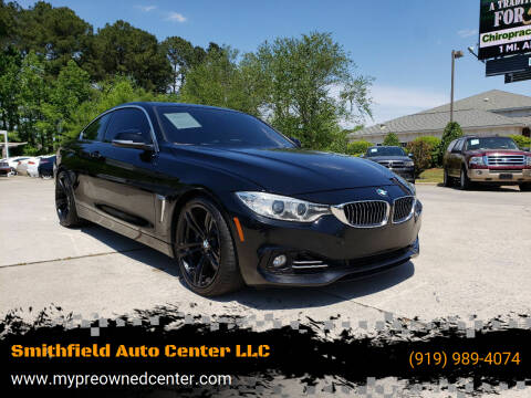 2014 BMW 4 Series for sale at Smithfield Auto Center LLC in Smithfield NC