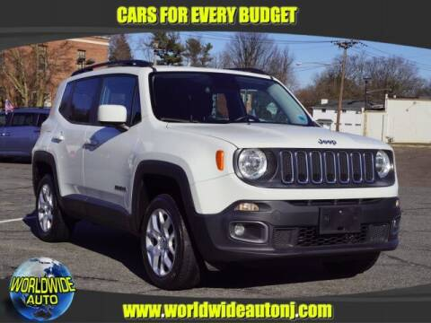 2016 Jeep Renegade for sale at Worldwide Auto in Hamilton NJ