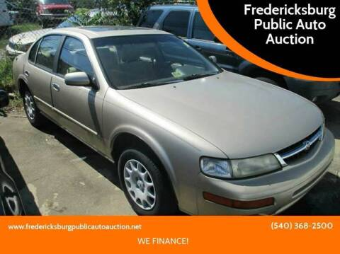 1998 Nissan Maxima for sale at FPAA in Fredericksburg VA