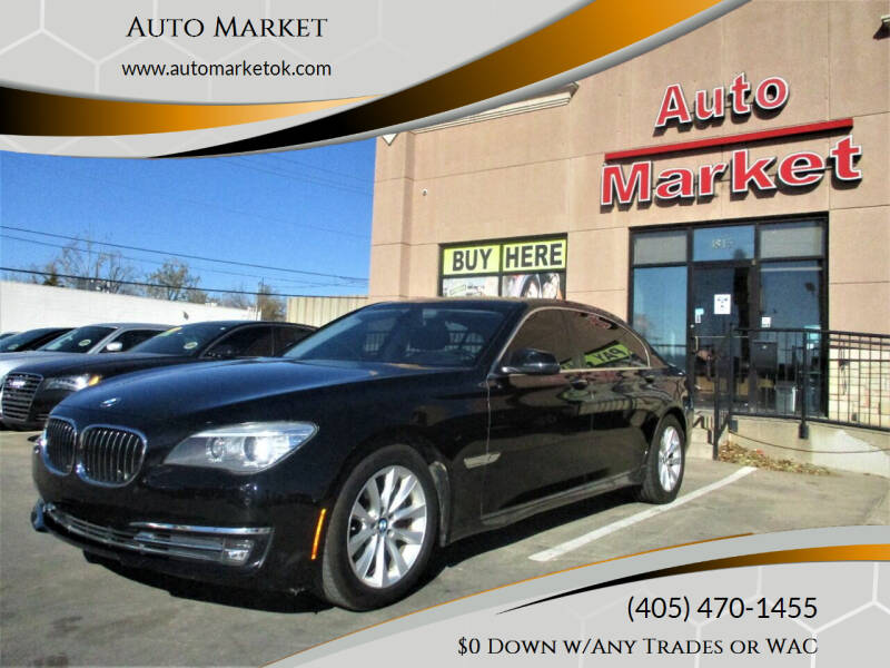 2014 BMW 7 Series for sale at Auto Market in Oklahoma City OK