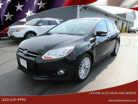 2012 Ford Focus for sale at Lifetime Auto Sales and Service in West Bend WI