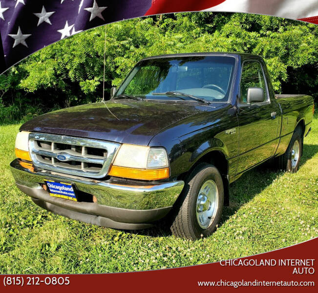 1999 Ford Ranger for sale at Chicagoland Internet Auto - 410 N Vine St New Lenox IL, 60451 in New Lenox IL
