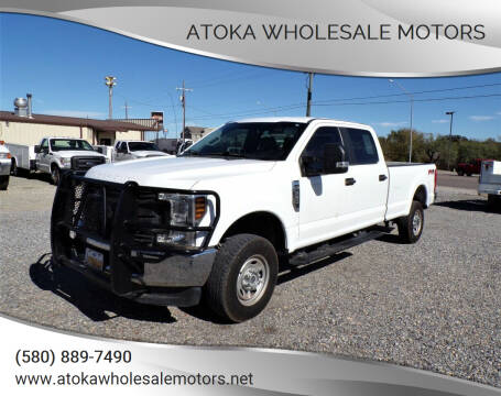 2019 Ford F-250 Super Duty for sale at ATOKA WHOLESALE MOTORS in Atoka OK