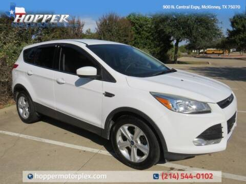 2015 Ford Escape for sale at HOPPER MOTORPLEX in Mckinney TX