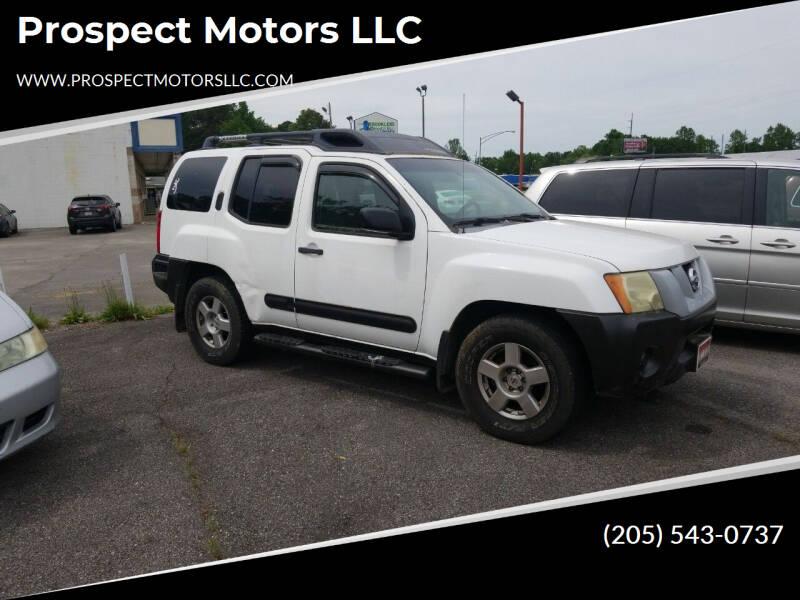 2006 Nissan Xterra for sale at Prospect Motors LLC in Adamsville AL