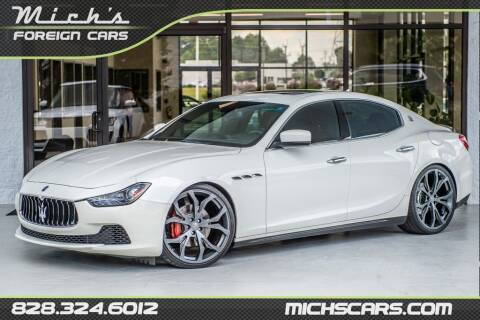 2014 Maserati Ghibli for sale at Mich's Foreign Cars in Hickory NC