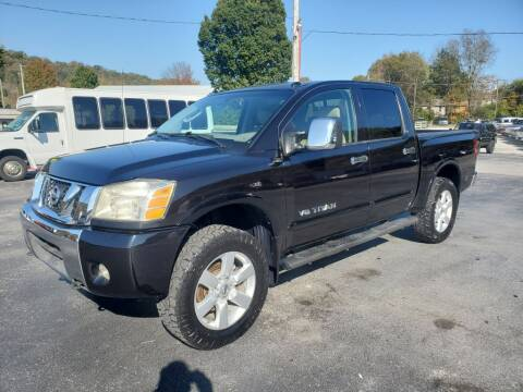2010 Nissan Titan for sale at MCMANUS AUTO SALES in Knoxville TN