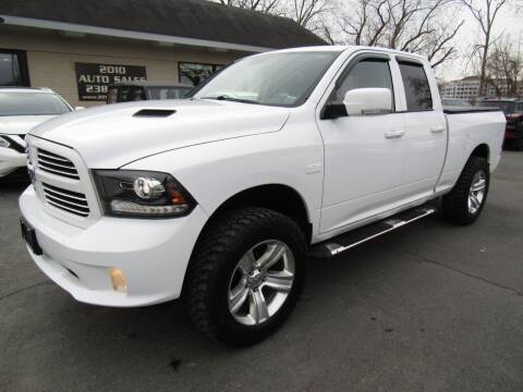 2016 RAM Ram Pickup 1500 for sale at 2010 Auto Sales in Troy NY