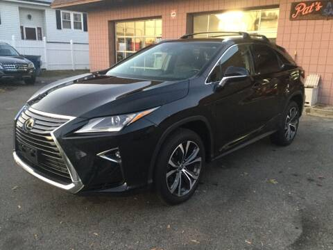 2019 Lexus RX 350 for sale at Pat's Auto Sales, Inc. in West Springfield MA