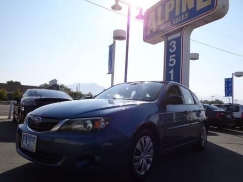 2008 Subaru Impreza for sale at Alpine Auto Sales in Salt Lake City UT
