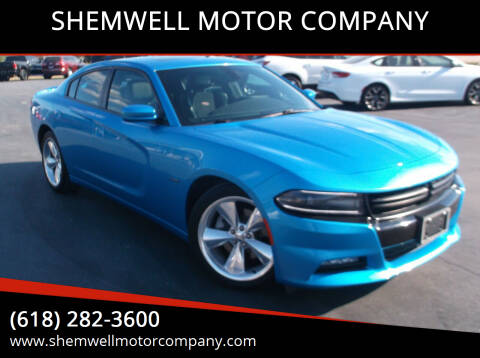 2016 Dodge Charger for sale at SHEMWELL MOTOR COMPANY in Red Bud IL