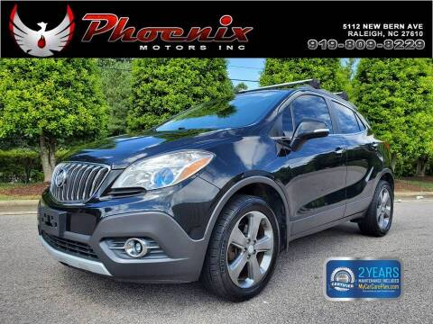 2014 Buick Encore for sale at Phoenix Motors Inc in Raleigh NC