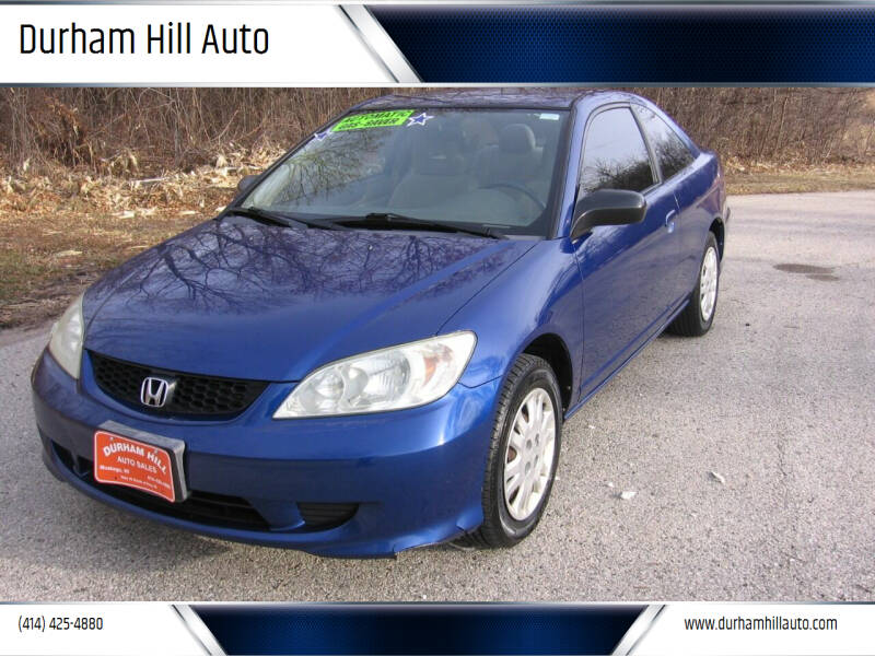 2005 Honda Civic for sale at Durham Hill Auto in Muskego WI