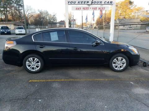 2012 Nissan Altima for sale at A-1 Auto Sales in Anderson SC