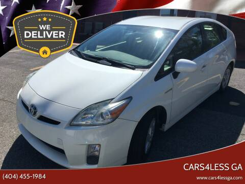 2010 Toyota Prius for sale at Cars4Less GA in Alpharetta GA