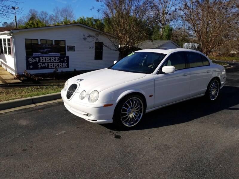 2002 Jaguar S-Type for sale at TR MOTORS in Gastonia NC