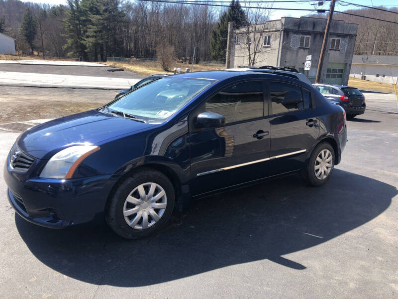 2012 Nissan Sentra for sale at Edward's Motors in Scott Township PA