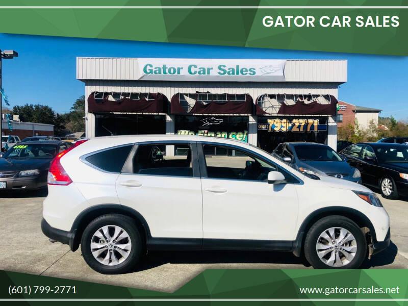 2012 Honda CR-V for sale at Gator Car Sales in Picayune MS