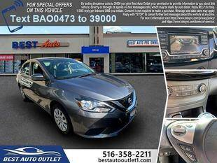 2017 Nissan Sentra for sale at Best Auto Outlet in Floral Park NY