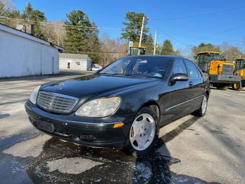 2002 Mercedes-Benz S-Class for sale at Velocity Motors in Newton MA