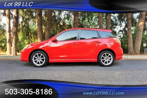 2006 Toyota Matrix for sale at LOT 99 LLC in Milwaukie OR