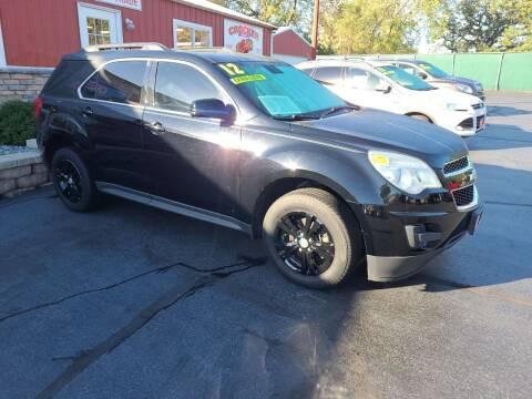 2012 Chevrolet Equinox for sale at Crocker Motors in Beloit WI