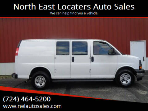 2018 Chevrolet Express Cargo for sale at North East Locaters Auto Sales in Indiana PA