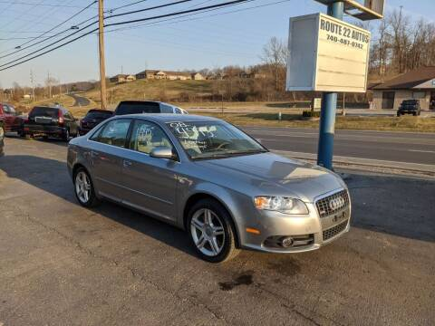 2008 Audi A4 for sale at Route 22 Autos in Zanesville OH