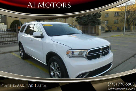 2015 Dodge Durango for sale at A1 Motors Inc in Chicago IL