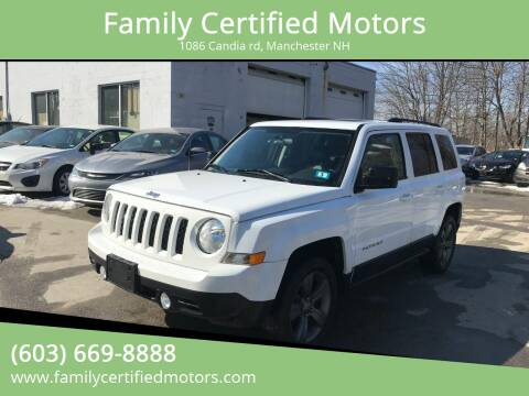 2015 Jeep Patriot for sale at Family Certified Motors in Manchester NH