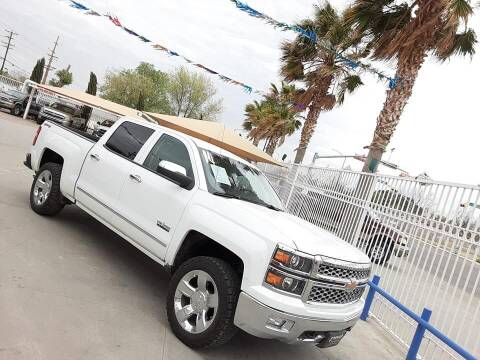 2014 Chevrolet Silverado 1500 for sale at Monaco Auto Center LLC in El Paso TX