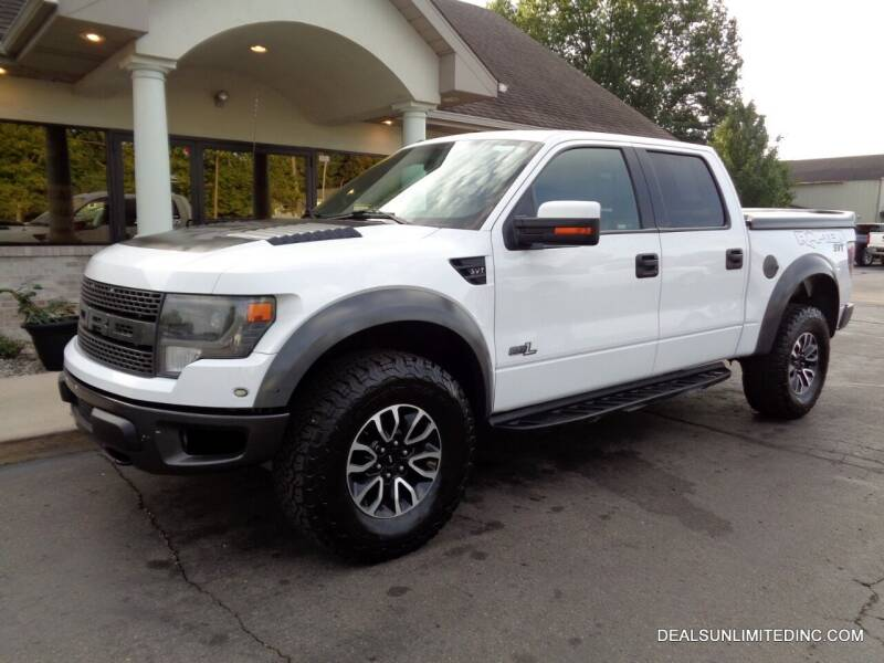 2014 Ford F-150 for sale at DEALS UNLIMITED INC in Portage MI