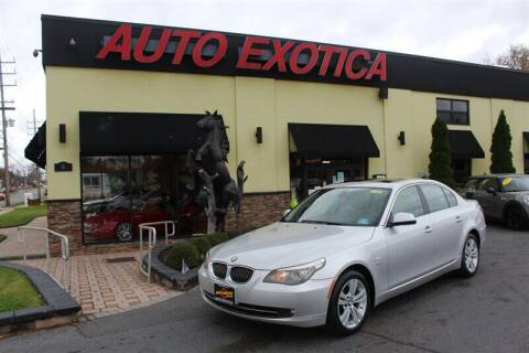 2010 BMW 5 Series for sale at Auto Exotica in Red Bank NJ