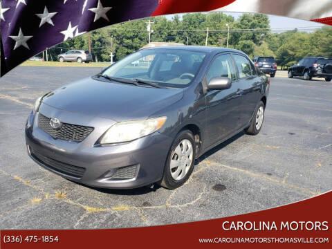 2010 Toyota Corolla for sale at CAROLINA MOTORS in Thomasville NC