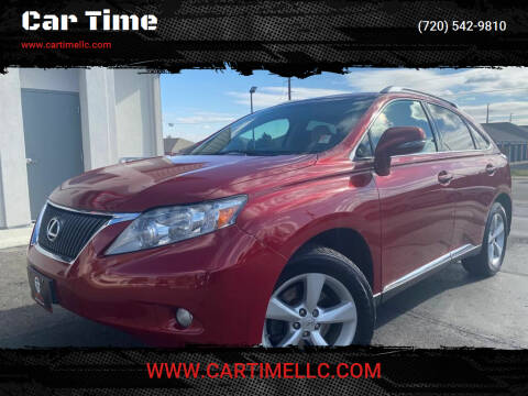 2010 Lexus RX 350 for sale at Car Time in Denver CO