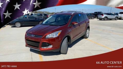 2014 Ford Escape for sale at 66 Auto Center in Joplin MO