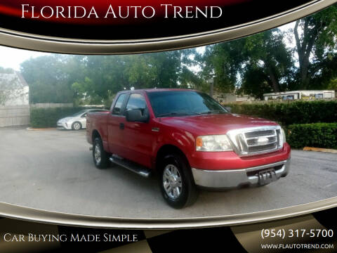 2008 Ford F-150 for sale at Florida Auto Trend in Plantation FL