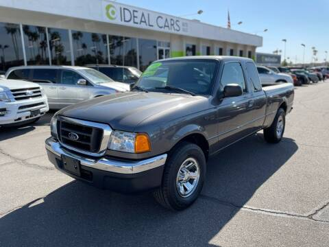 2004 Ford Ranger for sale at Ideal Cars in Mesa AZ