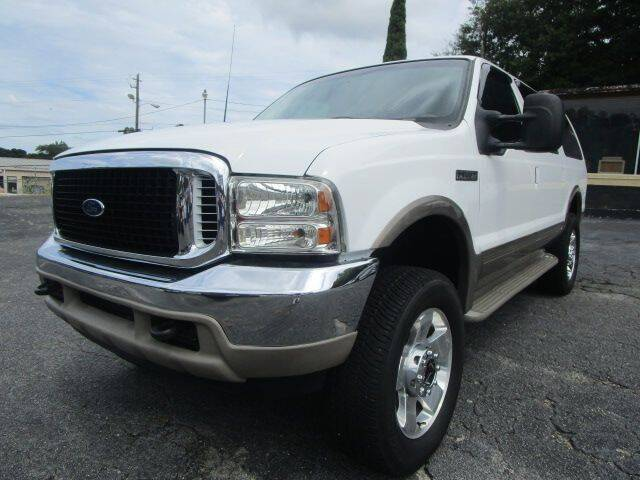 2001 Ford Excursion for sale at Lewis Page Auto Brokers in Gainesville GA