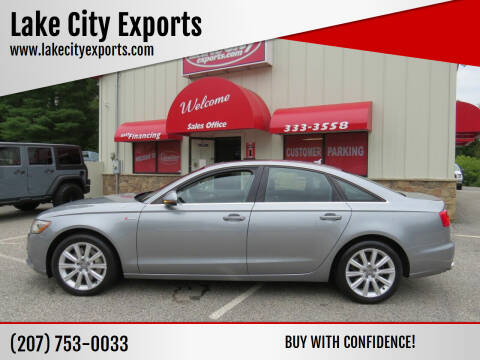 2014 Audi A6 for sale at Lake City Exports - Lewiston in Lewiston ME