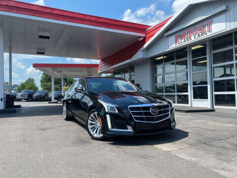 2014 Cadillac CTS for sale at Furrst Class Cars LLC  - Independence Blvd. in Charlotte NC