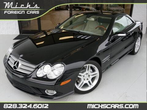 2007 Mercedes-Benz SL-Class for sale at Mich's Foreign Cars in Hickory NC