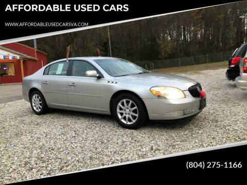 2008 Buick Lucerne for sale at AFFORDABLE USED CARS in Richmond VA
