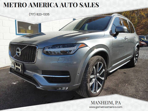 2016 Volvo XC90 for sale at METRO AMERICA AUTO SALES of Manheim in Manheim PA